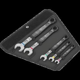 Набір комбінованих гайкових ключів WERA 6003 Joker 5 Set 1, 05020230001