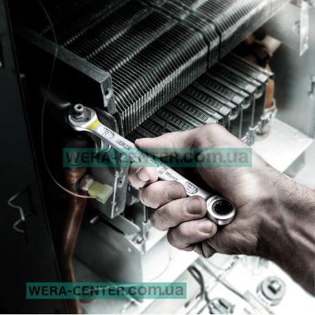 Набір комбінованих ключів з тріскачкою WERA  JOKER, 05073290001 (4 шт.)