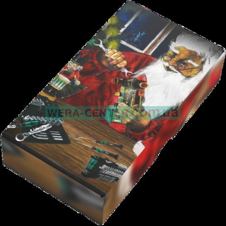 Викрутка WERA Kraftform Kompakt Christmas 2018 Stainless, 05136092001